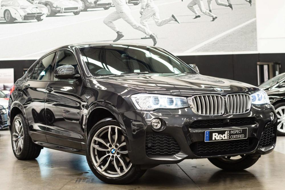 2015 BMW X4 F26 xDrive35i Coupe 5dr Steptronic 8sp 4x4 3.0T [Aug]